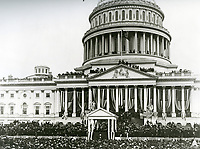 Inauguration ceremony for President William McKinley on March 4, 1901.<br /> <br /> Photo by Architect of the Capitol photographers.