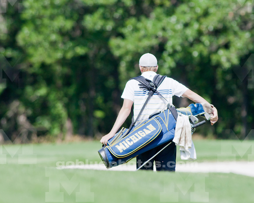 University of Michigan men's golf on day 1 at the 2011 NCAA National Championships in Stillwater, OK, on May 31, 2011