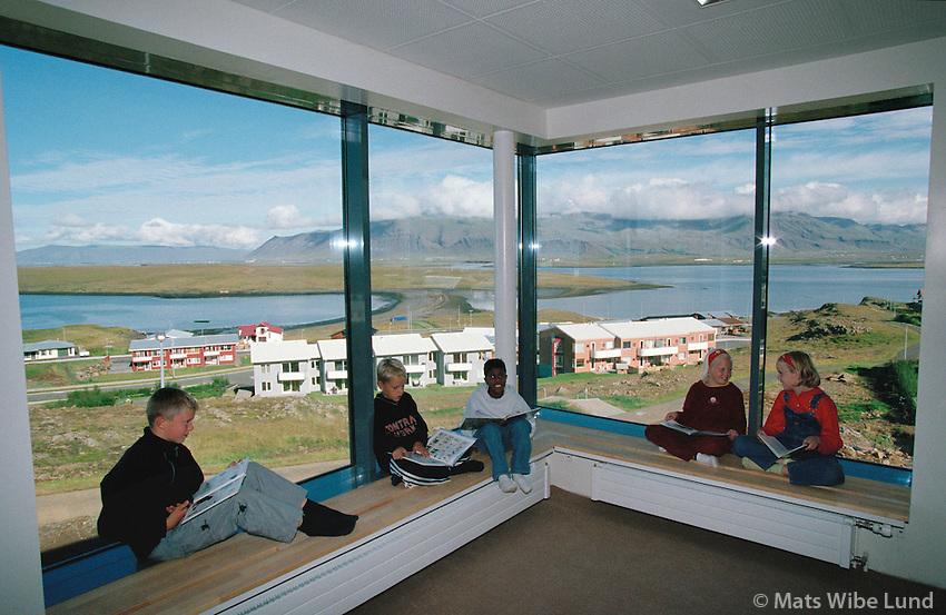 Borgaskóli, Reykjavík. .Borgaskoli primary school, Grafarvogur, Reykjavik.