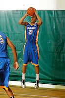 April 10, 2011 - Hampton, VA. USA;  Josh Fortune participates in the 2011 Elite Youth Basketball League at the Boo Williams Sports Complex. Photo/Andrew Shurtleff