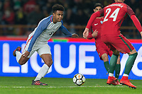 Leiria, Portugal - Tuesday November 14, 2017: Weston McKennie during an International friendly match between the United States (USA) and Portugal (POR) at Estádio Dr. Magalhães Pessoa.