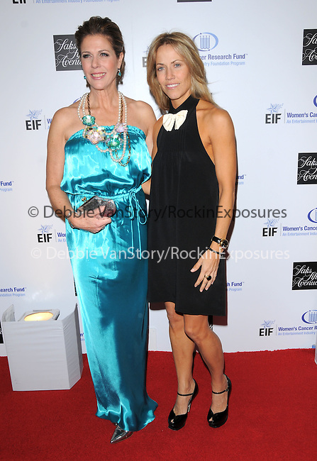 "Rita Wilson & Sheryl Crow at The Saks Fifth Avenue's ""Unforgettable Evening"" benefiting EIF's Women's Cancer Research Fund held at The Beverly Wilshire Hotel in Beverly Hills, California on February 10,2009                                                                     Copyright 2009 Debbie VanStory/RockinExposures"