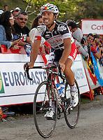 Vicente Reynes during the stage of La Vuelta 2012 between La Robla and Lagos de Covadonga.September 2,2012. (ALTERPHOTOS/Acero) /NortePhoto.com<br /> <br /> **CREDITO*OBLIGATORIO** <br /> *No*Venta*A*Terceros*<br /> *No*Sale*So*third*<br /> *** No*Se*Permite*Hacer*Archivo**<br /> *No*Sale*So*third*