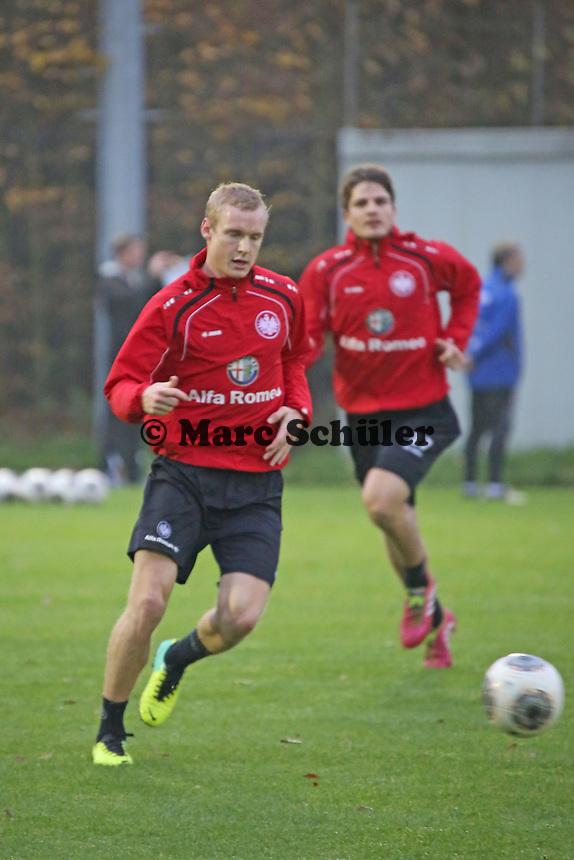 Sebastian Rode und Pirmin Schwegler (Eintracht)
