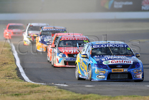 25.08.2012 Eastern Creek,Australia.  Race 1 runner up Orrcon Steel FPR Fords  Mark Winterbottom in his Falcon FG  during the V8 Supercar Championship at the Sydney Motorsport Park,Australia