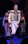 John Riddle during the Broadway Musical Opening Night Curtain Call for 'Frozen' at the St. James Theatre on March 22, 2018 in New York City.