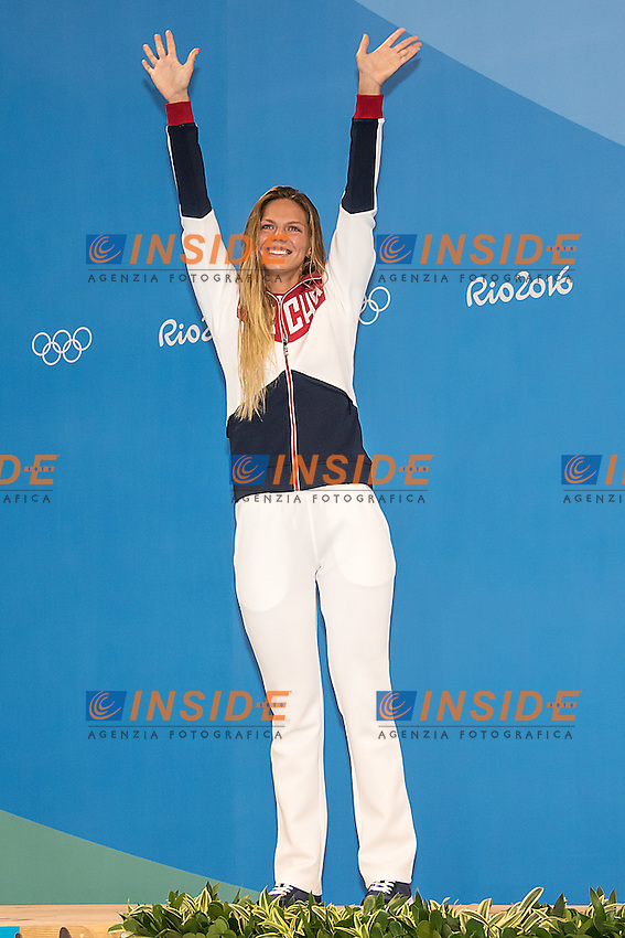 Efimova Yulia RUS silver<br /> 100 breaststroke women<br /> Rio de Janeiro  XXXI Olympic Games <br /> Olympic Aquatics Stadium <br /> swimming finals 08/08/2016<br /> Photo Giorgio Scala/Deepbluemedia/Insidefoto