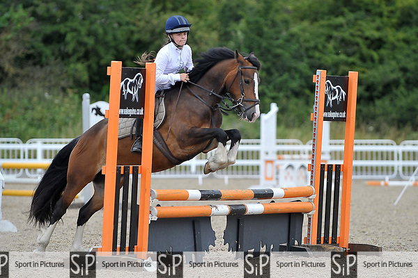 Class 1. 70cm Open. British showjumping juniors. Brook Farm Training Centre. Essex. 16/07/2017. MANDATORY Credit Garry Bowden/Sportinpictures - NO UNAUTHORISED USE - 07837 394578