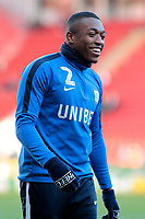 Preston North End's Darnell Fisher during the pre-match warm-up <br /> <br /> Photographer David Shipman/CameraSport<br /> <br /> The EFL Sky Bet Championship - Rotherham United v Preston North End - Tuesday 1st January 2019 - New York Stadium - Rotherham<br /> <br /> World Copyright © 2019 CameraSport. All rights reserved. 43 Linden Ave. Countesthorpe. Leicester. England. LE8 5PG - Tel: +44 (0) 116 277 4147 - admin@camerasport.com - www.camerasport.com