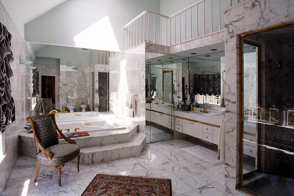 Master Bathroom With His And Her Bathtubs