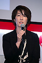 "Keiko Ishitani, executive director of Brand Operations and Brand Management of P&G Japan speaks to the audience during the ""ELLE Women in Society"" event on July 13, 2015, Tokyo, Japan. The event promotes the working women's roll in Japanese society with various seminars where top businesswomen, musicians, writers and other international celebrities speak about the working women's roll in the world. By 2020 Prime Minister Shinzo Abe's administration aims to increase the percentage of women in leadership positions to 30% in Japan. (Photo by Rodrigo Reyes Marin/AFLO)"