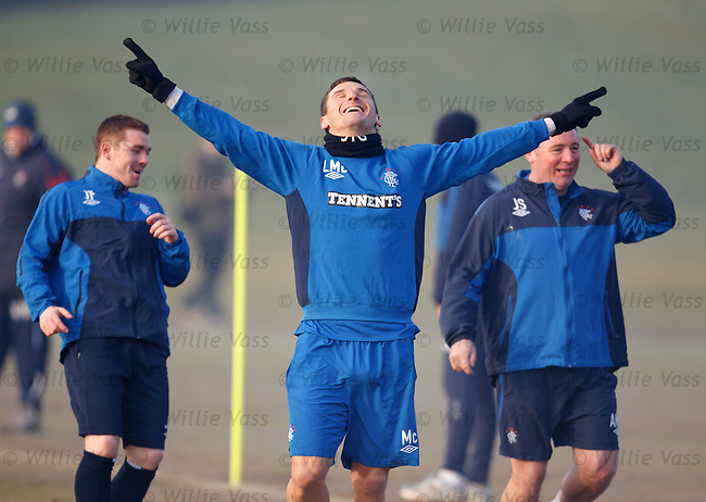 Lee McCulloch wins but Fleck and McCoist call for a steward's enquiry