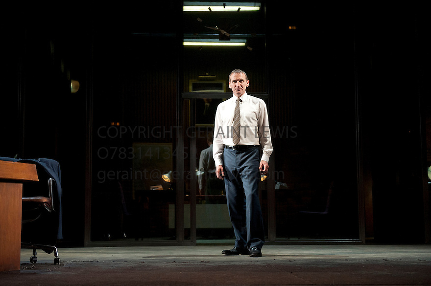 Antigone by Sophocles, a new version by Don Taylor, directed by Polly Findlay. With Christopher Ecclestone as Creon. Opens at The Olivier Theatre at The Royal National Theatre on 30/5/12.CREDIT Geraint Lewis