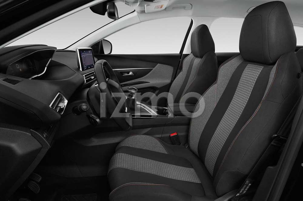 Front seat view of a 2018 Peugeot 3008 Active 5 Door SUV front seat car photos