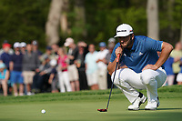 Jon Rahm (ESP) on the 13th green during the 1st round at the PGA Championship 2019, Beth Page Black, New York, USA. 17/05/2019.<br /> Picture Fran Caffrey / Golffile.ie<br /> <br /> All photo usage must carry mandatory copyright credit (© Golffile | Fran Caffrey)