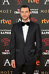Javier Rey attends 30th Goya Awards red carpet in Madrid, Spain. February 06, 2016. (ALTERPHOTOS/Victor Blanco)