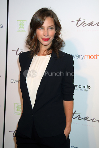NEW YORK, NY - OCTOBER 05: Christy Turlington attends The Tracy Anderson Method Pregnancy Project at Le Bain At The Standard on October 5, 2012 in New York City.© RW/MediaPunch Inc.