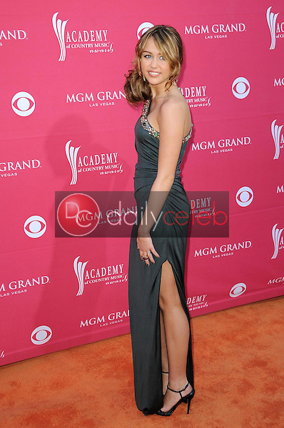 Miley Cyrus<br />at the 44th Annual Academy of Country Music Awards. MGM Grand Garden Arena, Las Vegas, NV. 04-05-09<br />Dave Edwards/DailyCeleb.com 818-249-4998
