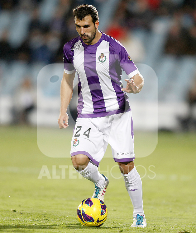 Real Valladolid's Mikel Balenziaga during La Liga match.November 18,2012. (ALTERPHOTOS/Acero)