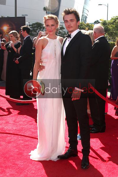 Rupert Friend<br /> at the Primetime Creative Arts Emmy Awards  2013 Arrivals, Nokia Theater, Los Angeles, CA, 09-15-13<br /> David Edwards/DailyCeleb.Com 818-249-4998