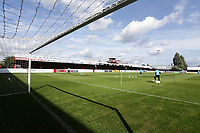 General view of the ground ahead of Dagenham & Redbridge vs Chesterfield, Vanarama National League Football at the Chigwell Construction Stadium on 15th September 2018