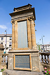 War memorial monument, Pro Gloria Patriae, in town centre of Chippenham, Wiltshire, England, UK
