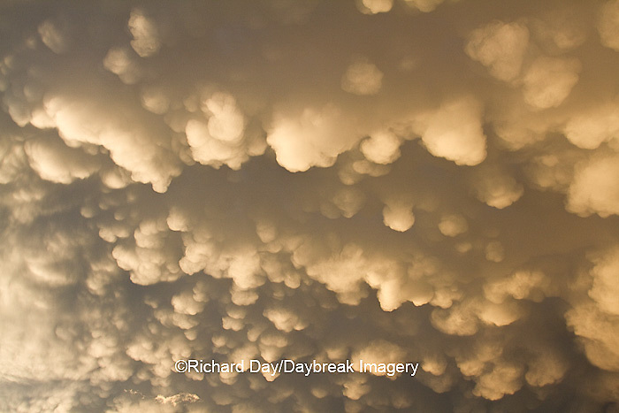 63891-02411 Mammatus clouds after storm,  Marion Co. IL