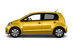 Car Driver side profile view of a 2017 Volkswagen E-Up - 5 Door Hatchback Side View