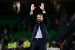England's Gareth Southgate celebrates the victory during UEFA Nations League 2019 match between Spain and England at Benito Villamarin stadium in Sevilla, Spain. October 15, 2018. (ALTERPHOTOS/A. Perez Meca)
