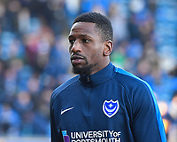Omar Bogle of Portsmouth during Portsmouth vs Doncaster Rovers, Sky Bet EFL League 1 Football at Fratton Park on 2nd February 2019