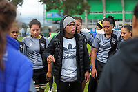 Action from the 2017 Hurricanes Secondary Schools girls rugby union final between Manukura College and St Mary's College at Arena Manawatu in Palmerston North, New Zealand on Saturday, 2 September 2017. Photo: Dave Lintott / lintottphoto.co.nz
