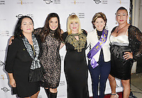 "BEVERLY HILLS, CA - AUGUST 26: Josefina Lopez, Kamala Lopez, Patricia Arquette, Gloria Allred and Bamby Salcedo attend the ""Equal Means Equal"" Special Screening at the Music Hall on August 20, 2016 in Beverly Hills, CA. Koi Sojer, Snap'N U Photos / MediaPunch"