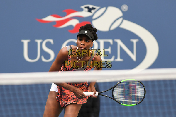 FLUSHING, NY- SEPTEMBER 01: ***NO NY DAILIES***  Venus Williams Vs Maria Sakkari during the 2017 US Open at the USTA Billie Jean King National Tennis Center on September 1, 2017 in Flushing Queens. <br /> CAP/MPI04<br /> &copy;MPI04/Capital Pictures