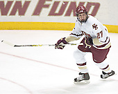 Andrew Orpik - The Boston College Eagles completed a shutout sweep of the University of Vermont Catamounts on Saturday, January 21, 2006 by defeating Vermont 3-0 at Conte Forum in Chestnut Hill, MA.