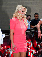 Britney Spears arrives at the Frank Erwin Center in Austin, TX for the first day of auditions for The X Factor on Thurs., May 24, 2012. copyright Media Punch Inc.