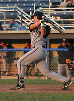 June 27, 2003:  Andy Chance of the Williamsport Crosscutters during a game at Dwyer Stadium in Batavia, New York.  Photo by:  Mike Janes/Four Seam Images