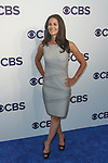 Tracy Wolfson arrives at the CBS Upfront at The Plaza Hotel in New York City on May 17, 2017.