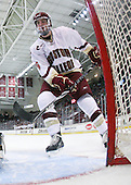 Patrick Wey (BC - 6) - The Boston College Eagles defeated the University of Massachusetts-Amherst Minutemen 6-5 on Friday, March 12, 2010, in the opening game of their Hockey East Quarterfinal matchup at Conte Forum in Chestnut Hill, Massachusetts.