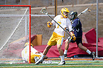 San Diego, CA 05/25/13 - Eric Goicoechea (Parker #7) in action during the CIF San Diego Section Boys Division 2 Lacrosse Championship game.  Parker defeated Del Norte 12-4 for the 2013 title.