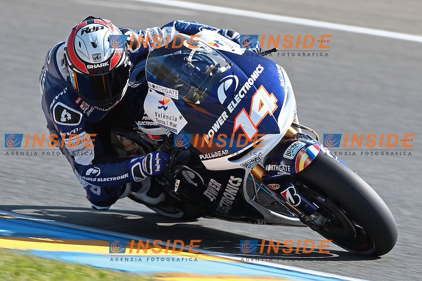 .17-05-2013 Le Mans (FRA).Motogp world championship.in the picture: Randy De Puniet - Aspar team Motogp CRT .Foto Semedia/Insidefoto.ITALY ONLY
