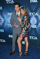 Jill Hennessy &amp; Benjamin Bratt at the Fox Winter TCA 2017 All-Star Party at the Langham Huntington Hotel, Pasadena, USA 11th January  2017<br /> Picture: Paul Smith/Featureflash/SilverHub 0208 004 5359 sales@silverhubmedia.com