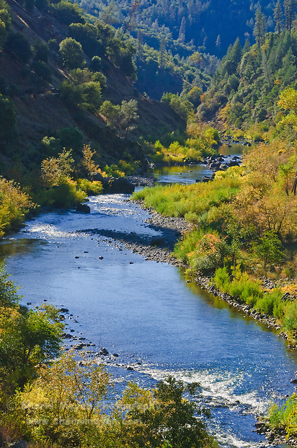 North Fork of the American River, Auburn, California.