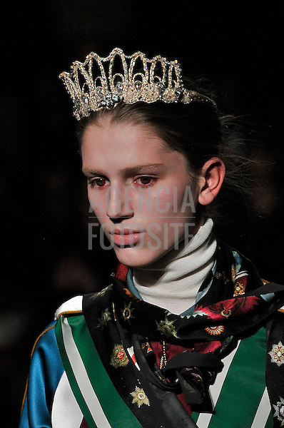 Paris, Franca &ndash; 02/2014 - Desfile de Undercover durante a Semana de moda de Paris - Inverno 2014. <br /> Foto: FOTOSITE