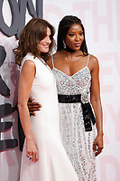 Carla Bruni and Naomi Campbell attend Fashion for Relief Cannes 2018 during the 71st annual Cannes Film Festival at Aeroport Cannes Mandelieu on May 13, 2018 in Cannes, France. <br /> CAP/GOL<br /> &copy;GOL/Capital Pictures