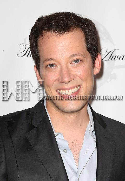 John Tartaglia attending the 69th Annual Theatre World Awards at the Music Box Theatre in New York City on June 03, 2013.