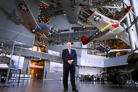 Gordon H. Mueller, PhD, poses for a photograph at the National World War II museum Wednesday, July 20, 2016 in New Orleans.
