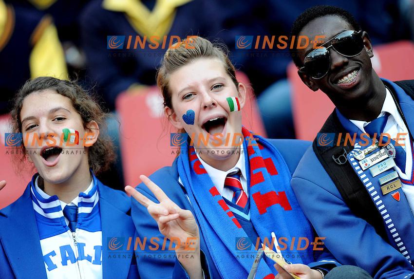 Tifosi<br /> Slovacchia Italia - Slovakia vs Italy<br /> Campionati del Mondo di Calcio Sudafrica 2010 - World Cup South Africa 2010<br /> Ellis Park Stadium, Johannesburg, 24 / 06 / 2010<br /> &copy; Giorgio Perottino / Insidefoto