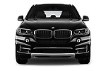 Car photography straight front view of a 2017 BMW X5 xDrive35d 5 Door SUV