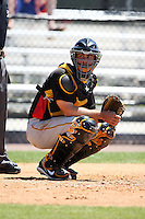 April 2, 2010:  Catcher Eric Fryer of the Pittsburgh Pirates organization during Spring Training at the Carpenter Complex in Clearwater, FL.  Photo By Mike Janes/Four Seam Images