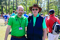 Pat Finn CEO Golfing union of Ireland and Golfing union of Ireland President Jim McGovern during Wednesdays preview at the The Masters , Augusta National, Augusta, Georgia, USA. 10/04/2019.<br /> Picture Fran Caffrey / Golffile.ie<br /> <br /> All photo usage must carry mandatory copyright credit (&copy; Golffile | Fran Caffrey)